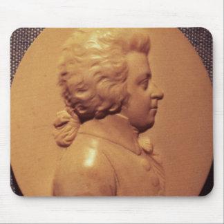 Portrait medallion of Wolfgang Amadeus Mozart Mouse Pad