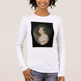 Portrait Miniature of the Empress Josephine (1763- Long Sleeve T-Shirt