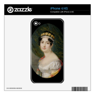 Portrait Miniature of the Empress Josephine (1763- Skins For The iPhone 4S