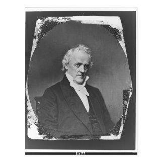 Portrait of 15th U.S. President James Buchanan Postcard