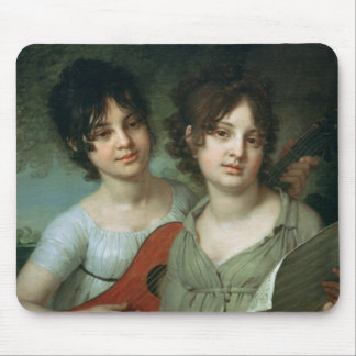 Portrait of A. and V. Gagarin, 1802 Mouse Pad