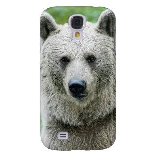 Portrait of a bear samsung galaxy s4 case