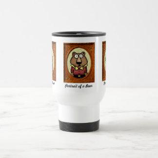Portrait of a Bear Travel Mug