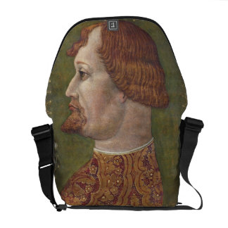 Portrait of a Bearded Nobleman, possibly Gian Gale Messenger Bag