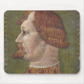 Portrait of a Bearded Nobleman, possibly Gian Gale Mouse Pad