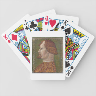 Portrait of a Bearded Nobleman, possibly Gian Gale Bicycle Playing Cards