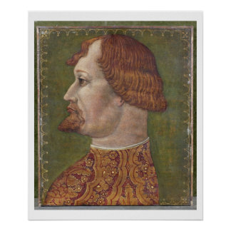 Portrait of a Bearded Nobleman, possibly Gian Gale Posters