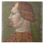 Portrait of a Bearded Nobleman, possibly Gian Gale Tile