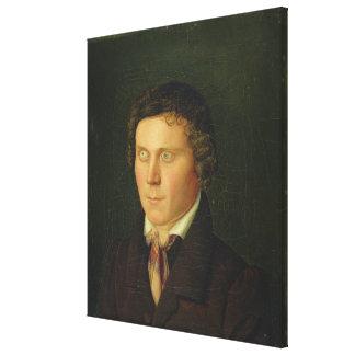 Portrait of a Blind Boy Canvas Print