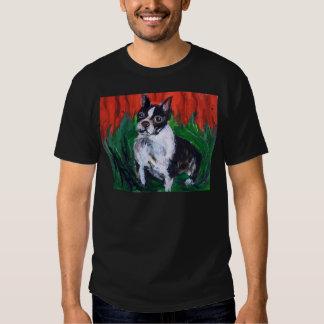 Portrait of a Boston Terrier T-shirt