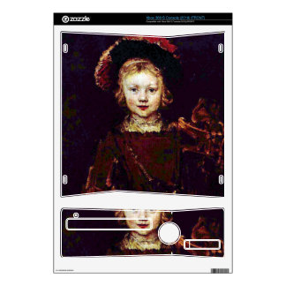 Portrait of a boy  by Rembrandt Decal For The Xbox 360 S