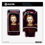 Portrait of a boy  by Rembrandt Decals For HTC Desire S