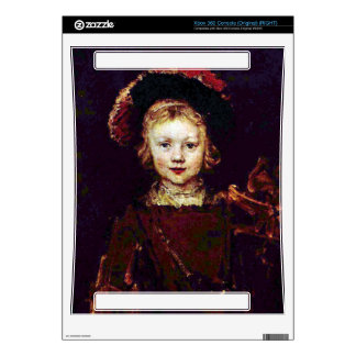 Portrait of a boy  by Rembrandt Xbox 360 Decals