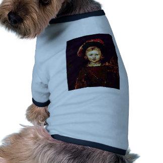 Portrait Of A Boy (Titus Rembrandt'S Son?) Pet Clothes