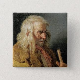 Portrait of a Breton Peasant, 1834 Button