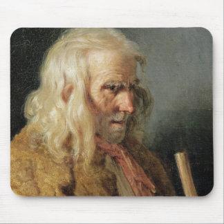 Portrait of a Breton Peasant, 1834 Mouse Pad