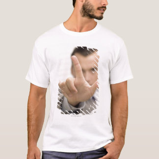 Portrait of a businessman making a hand sign T-Shirt