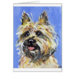 Portrait of a Cairn Greeting Card