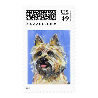 Portrait of a Cairn Postage Stamp