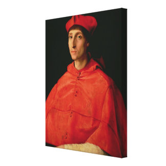 Portrait of a Cardinal 2 Canvas Print