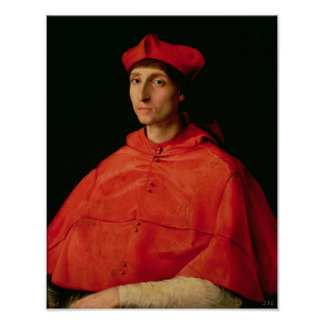 Portrait of a Cardinal 2 Poster