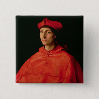 Portrait of a Cardinal Pinback Button