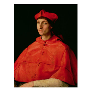 Portrait of a Cardinal Postcard