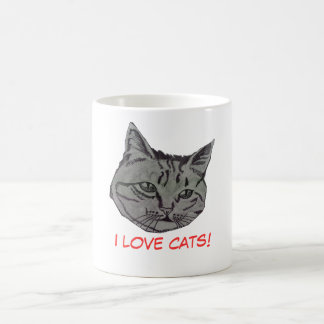Portrait of a Cat Mug