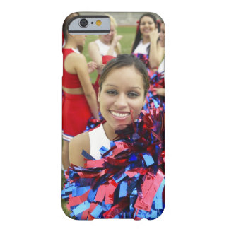 Portrait of a Cheerleader in Front of a Group of Barely There iPhone 6 Case