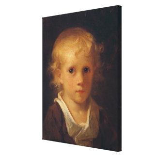 Portrait of a Child Canvas Print