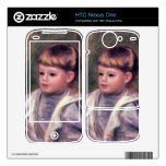 Portrait of a child (Philippe Gangnat) by Renoir HTC Nexus One Skins