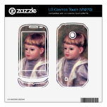 Portrait of a child (Philippe Gangnat) by Renoir Decal For LG Cosmos Touch
