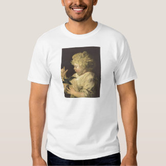 Portrait of a child with bird by Antoon van Dyck T Shirt