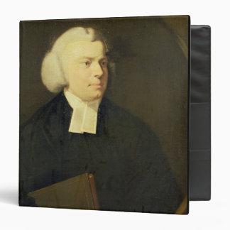 Portrait of a Clergyman 3 Ring Binder