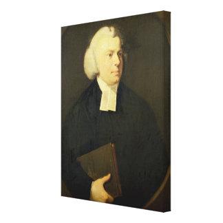 Portrait of a Clergyman Canvas Print