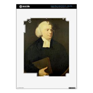 Portrait of a Clergyman iPad 3 Decals
