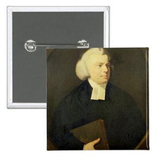 Portrait of a Clergyman Pinback Button