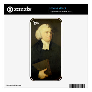 Portrait of a Clergyman Skin For iPhone 4