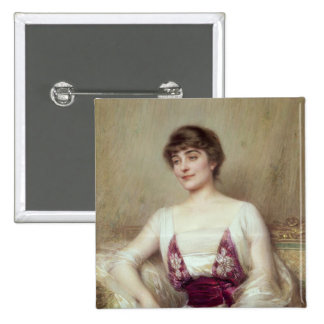 Portrait of a Countess Pinback Buttons