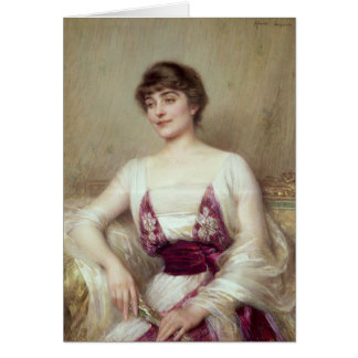 Portrait of a Countess Card