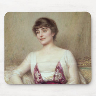 Portrait of a Countess Mouse Pads