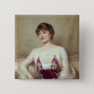 Portrait of a Countess Pinback Button