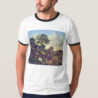 Portrait Of A Couple With Two Children T-Shirt