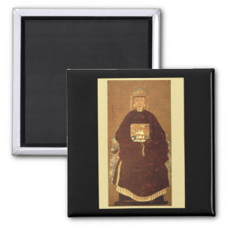 Portrait of a Dignitary's Wife_The Orient Magnet
