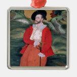 Portrait of a European sailor, c.1590 Christmas Tree Ornaments
