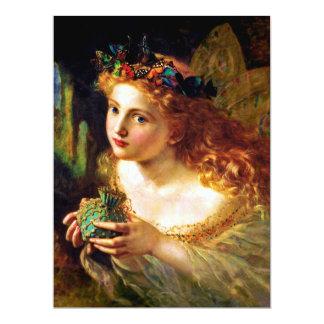 PORTRAIT OF A FAIRY (beautiful pixie) ~ Card