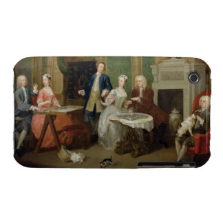 Portrait of a Family, 1730s (oil on canvas) iPhone 3 Case
