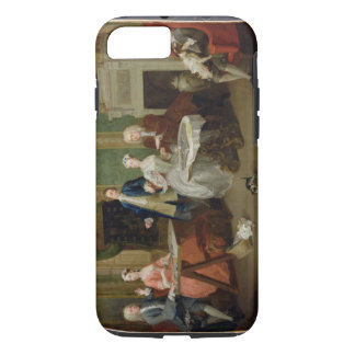 Portrait of a Family, 1730s (oil on canvas) iPhone 8/7 Case