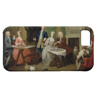 Portrait of a Family, 1730s (oil on canvas) iPhone SE/5/5s Case