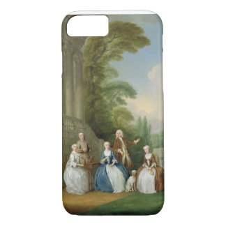 Portrait of a Family, 1740 (oil on canvas) iPhone 8/7 Case